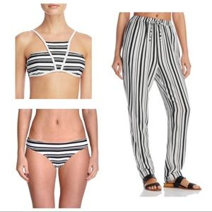 NWT MINKPINK Bikini & Cover Up Pants Set